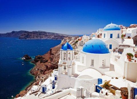 FERIEMÅL: Hellas er et populært feriemål.