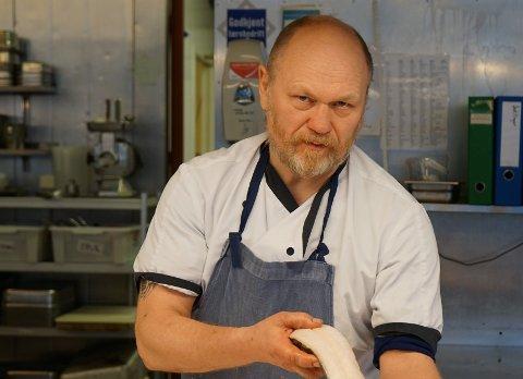 LYKKELIG UTFALL: Lars-Thore Thomassen fant fram til kunden som hadde betalt for mye for sjøkrepsen.