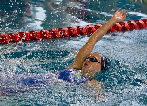 KLAR FOR UM: Andrea Helmersen klarte kravet på 200 meter rygg til UM om noen uker.