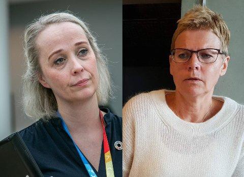 KOMMUNETOPPER: Mari Enoksen Hult og Britt Elin Steinveg