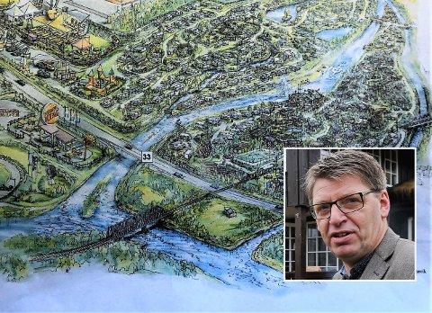 POSITIV: Ola Tore Dokken stiller seg som ordfører positiv til de omfattende campingplanene. – Men noen forhold bør diskuteres, sier Dokken.