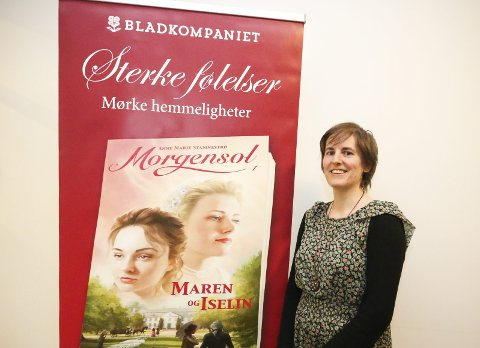 LOKAL FORFATTER: Anne Marie Stamnestrø fra Ås har lagt handlingen i Morgensol til hjembygda. ALLE FOTO: STIG PERSSON