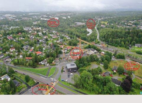 De neste årene skal det bygges nærmere 1000 nye boliger på Langhus. Byggeaktiviteten er høy, og ifølge utbyggerne, har salget gått som forventet.