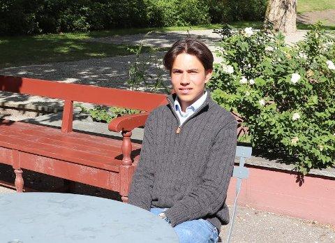 FRUSTRERT: Henrik Bastiansen (16) synes det er frustrerende med de nye inntaksreglene i Viken.