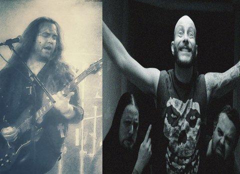 Nok rock: Med Henrik Kaupangs Hex A.D. og bandet Metal Militia samt snurring av rockeskiver blir det garantert nok rock på Sanden 25. februar.