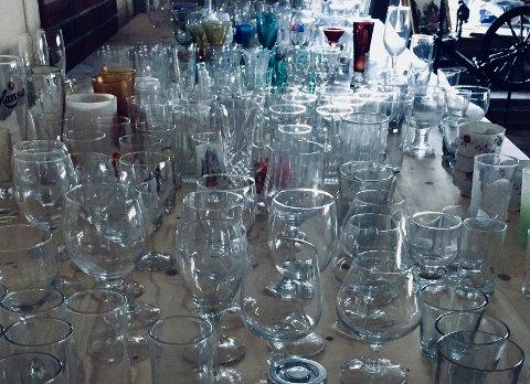 Stor glassamling