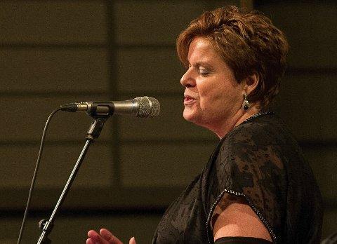 KONSERTKLART: Marit L. Gulliksen er klar for å fylle Larvik kirke med soul og jazz neste torsdag.