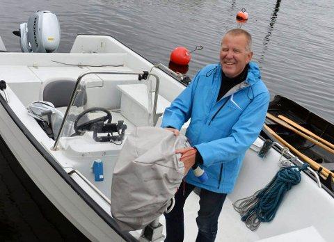 Bjørn Strandli er nasjonalparkforvalter i Færder nasjonalpark.