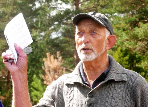 Hans Marius Råstad er svært engasjert i Torøds historie og har sendt et innspill til kommuneplanen på vegne av velforeningen.