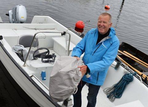 Bjørn Strandli er betinget optimist med tanke på å få torsken tilbake i Oslofjorden.