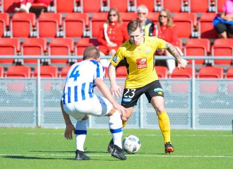 Alexander Iversen scoret Stålkams siste mål i historien.