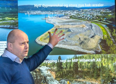 Administrerende direktør Arve Ulriksen i Mo Industripark er imponert over at Freyr har maktet å hente inn flere milliarder i kapital. Han gleder seg til å være vertskap for ny norsk industrihistorie.