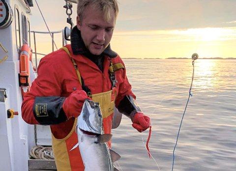 – Det er godt å bo på et sted der man kjenner folkene og har familien sin, sier 22 år gamle Sander Elias Norø til Rana Blad.