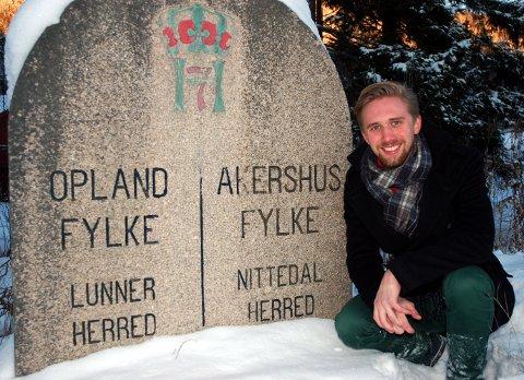 FORNØYD: Lasse Lehre er fornøyd med at statsråd Monica Mæland fra hans eget parti innstiller i tråd med vedtaket i kommunestyret i Lunner.