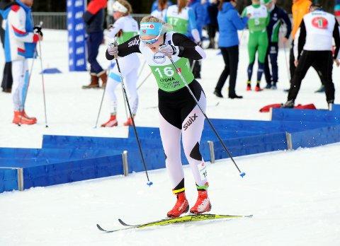 GIKK FORT: Vilde Flatland fikk en god start på norgescupen i langrenn ettersom hun sikret seg vinterens første norgescuppoeng i langrenn.