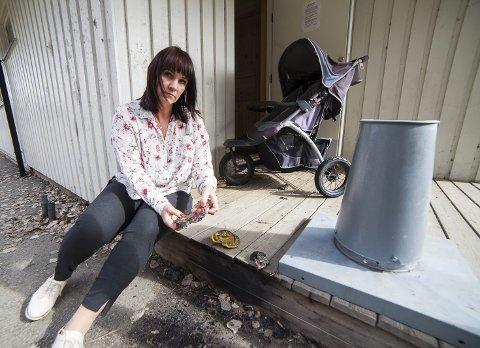ANMELDTE: Virksomhetsleder Kristina Holst Jutila har anmeldt hærverket på Doktorgården barnehage i helgen.