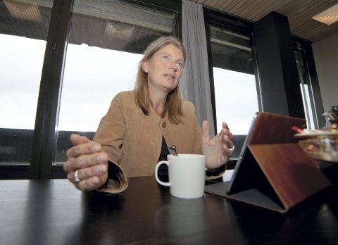 UROVEKKENDE: Asker-ordfører Lene Conradi (H) mener nyheten om at Statens vegvesen må sette en foreløpig stopp for E 18 Vestkorridoren på grunn av uoverensstemmelse om finansiering er urovekkende.