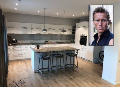 FRANK LØKES KJØKKEN: Det er felles kjøkken i 1.etasje som deles med huseier, som forøvrig bruker det minimalt, står det i annonsen på Finn.no.