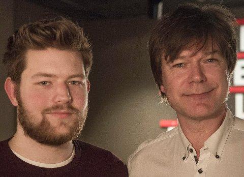 TOPPER: Andreas Kristiansen (t.v.) og Ole T. Hoelseth innehar de to første plassene til Liberalistene ved høstens kommunevalg.