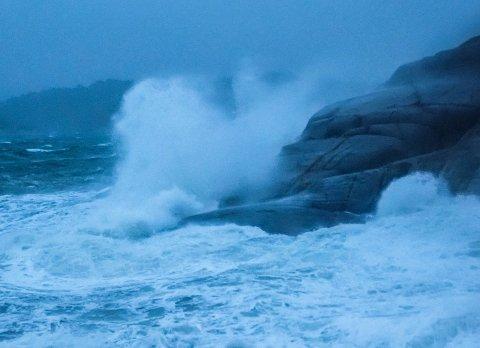 I november ble det et hardt møte mellom vær og Vøra. Det samme er å forvente de beste dagene.