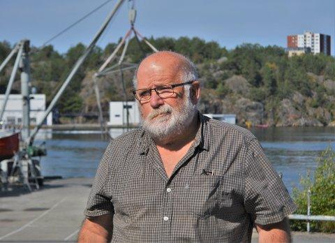 OPTIMISTISK: Styreleder i Langestrand Båt- og Hobbysenter stiller seg optimistisk til flyttingen av klubben, selv om det er vemodig å forlate plassen de har vært på i 30 år.