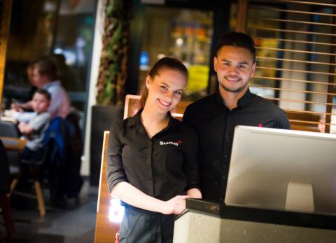 Restauranten Sumo flytter inn på Amfi Vågen.