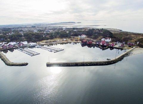 Fredet: Fiskerihavnen på Brattestø er nå fredet. Arkivfoto: Erik Hagen