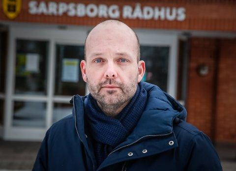 Ordfører Sindre Martinsen-Evje i Sarpsborg kommune.