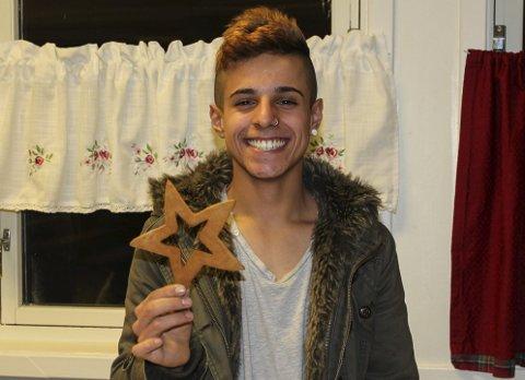 Lykkelig: Tony Aldeen (16) er svært fornøyd med å bo på Mysebu og gleder seg til å feire jul der.