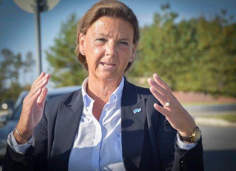 Ingjerd Schou får fire nye år på Stortinget, til tross for at Høyre gjorde et svakt valg i Indre Østfold. Arkivfoto.