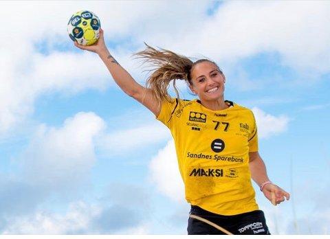 Camilla Herrem synes det var deilig å få spille kamp igjen etter å ha hatt opphold siden desember.