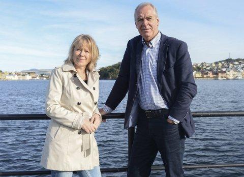 Utdanning: Sidsel Sæterøy og Iver Nordseth håper på etableringen av en folkehøgskole i Aure kommune.