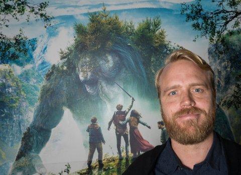 Regissør av filmen Askeladden i Dovregubbens Hall, Mikkel Brænne Sandemose.