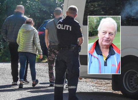 AKSJONERTE: Politiet aksjonerte mot Axels tivoli, og saken er fortsatt under etterforskning. Arild Johansen har nylig vært i samtale med tivoli-ledelsen i forkant av Messafestivalen i mai.