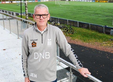 TILBAKE I TØNSBERG: Jan Eddie Hansen har vært engasjert i Borre-fotballen de siste årene. Nå er han ansatt som sportslig leder i FK Eik Tønsberg.