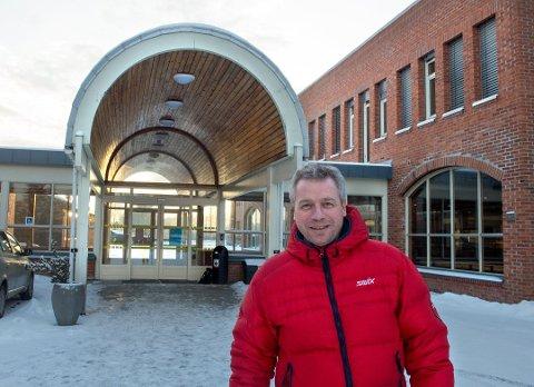 SMITTETILFELLE: Rektor Vegard Sommerstad sier smittetilfellet ble kjent fredag. ARKIV