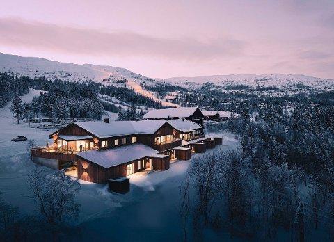 TOTALRENOVERING: Til sammen skal det bygges 16 leiligheter like ved skianlegget i Bjørgan. Interessen har vært stor, og allerede er nesten halvparten av dem solgt.