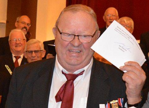 Tvedestrand mannskor kunne nylig feire 80-års jubileum. Jan Egil Gundersen (bildet) har vært korets formann i over halvparten av dem.