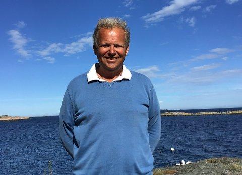 Harald Tobiassen: Frisk 63-åring, som fyller 64 år denne uken. Etter 42 år med nesten sammenhengende veibygging velger han nå å bli pensjonist.