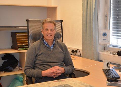 NY LEDER: Didrik Arup Seip Hjort er ny revisjonssjef i Kommunerevisjon IKS.