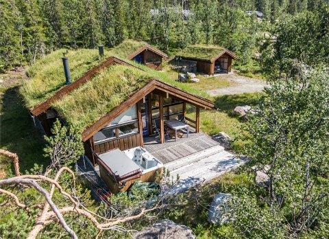 DYRESTE EIENDOM: Denne Hedda-hytta på Hedalsfjellet ble solgt gjennom Notar for 4.260.000 kroner i oktober, og ble med det dyreste eiendom solgt i Sør-Aurdal forrige måned.