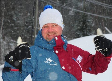 GLAD SJEF: Daglig leder Richard Palmgren i Varingskollen. (Arkivfoto: Kristin Haagensen)