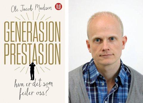 UNGDOM OG PRESS: Ole Jacob Madsen tar for seg ungdom og presset generasjonen opplever i Son Kulturkirke tirsdag 24. september.