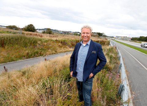 VIL KJØPE MER: John Gilbert Helgeland forteller at han og Heggelund er interessert i flere eiendomskjøp i Tønsberg-regionen.
