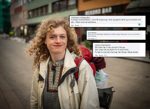 HETSET: MDG-politiker Margit Fausko ble grovt hetset i kommentarfeltene i helgene. Hun vil imidlertid ikke la seg stoppe av usaklige kommentarer.