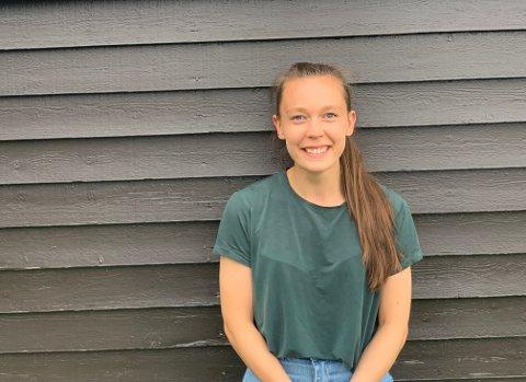 NY KONTAKTLÆRER: Thea Aas Kristiansen (23) er ny kontaktlærer på Nesoddtangen skole.