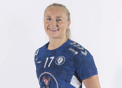 FREMTIDEN SPIKRET: Guro Lundtveit Svennevig (24) fra Risør kan gå inn i sesongavslutningen, vel vitende om at hun er i Oppsal også neste sesong – etter alt å dømme i Eliteserien.
