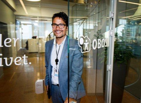 KONSERNSJEF:–Jeg opplever at det bygger ned distansen at du kommer fra en liten plass, sier Daniel Kjørberg Siraj som har gjort karriere i Oslo.