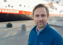 Kommunikasjonsdirektør Rune Thomas Ege i Hurtigruten.