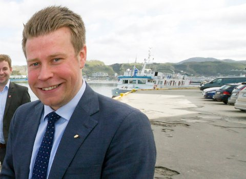 Elnar Remi Holmen er ny statssekretær